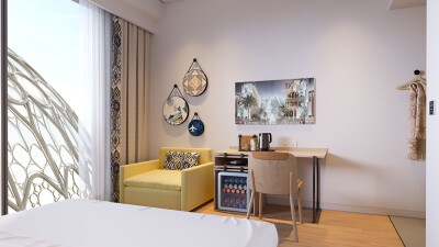 النظرة الأولى: فندق روف اكسبو 2020, دبي